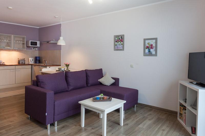 Ferienwohnung Studio Comfort - Essbereich