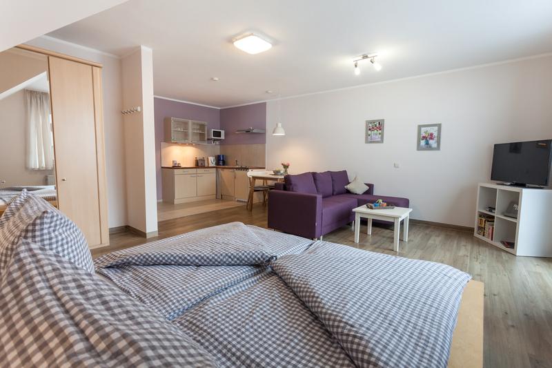 Ferienwohnung Studio Comfort - Wohnzimmer