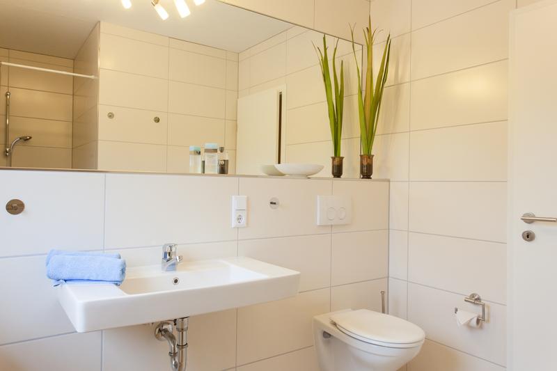 Ferienwohnung Studio Comfort - Badezimmer