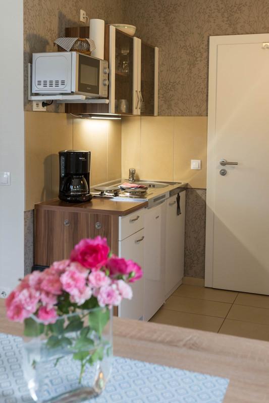Ferienwohnung Studio Standard - Küche