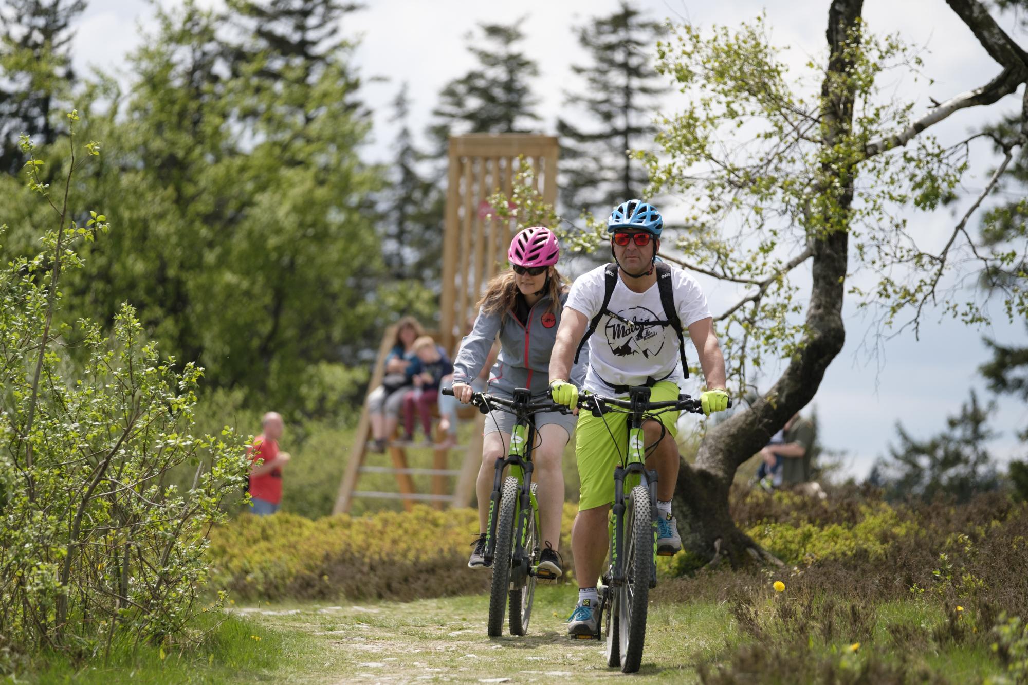 Moutainbike Tour durch die Upländer Berge