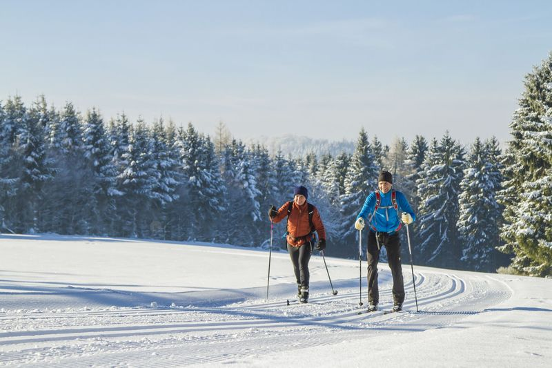 Langlauf im Winter in Willingen